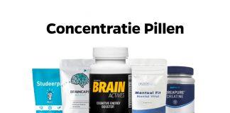 concentratie pillen