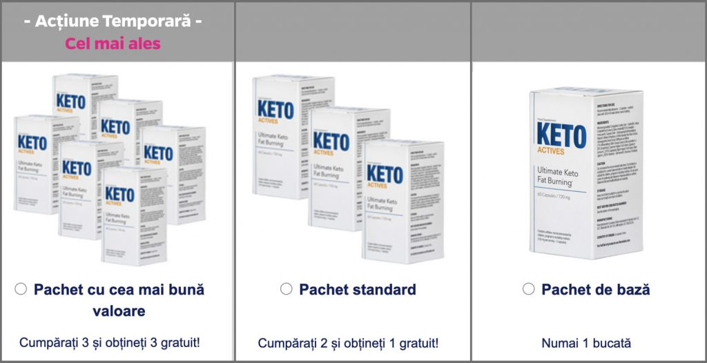 pastile de slabit keto actives pret